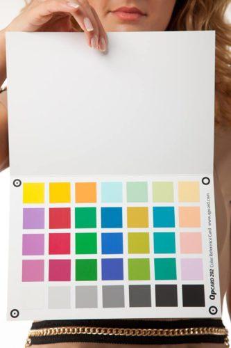 Създаване на цветен профил на фотоапарат